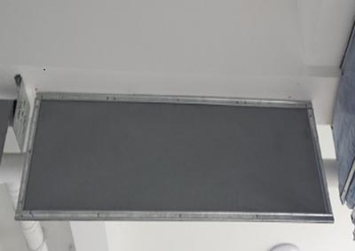硅胶布挡烟垂壁