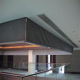 山东玻璃硅胶布挡烟垂壁